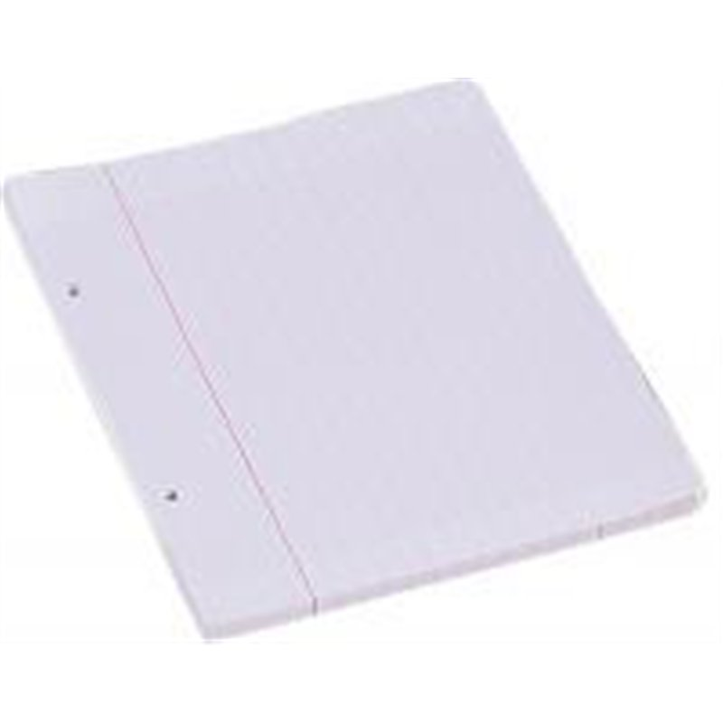 Feuillet recharge classeurs 90g 200 pages 17x22 cm seyes blanc (Etui de 100)