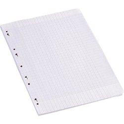Feuillet recharge classeurs A4 seyes 100 pages blanc 90g NF 90 (Etui de 50)