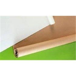 Rouleau kraft - 25 m x 1 m - 64 g - blanc