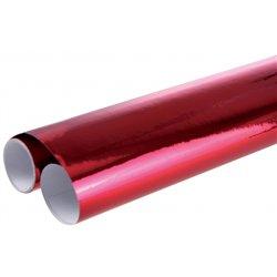 Rouleau de papier métallisé 2,00 x 0,70 m - rouge