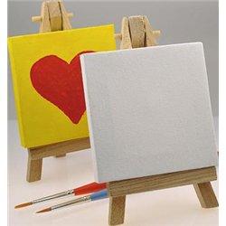 Mini toile à peindre sur châssis