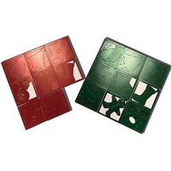 Atelier noël de cartes à gratter + 6 bâtonnets OFFERTS