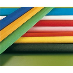 Papier crépon qualité extra supérieur crêpé à 60% - bleu pétrole