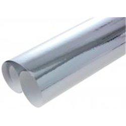 Rouleau de papier métallisé 2,00 x 0,70 m - argent