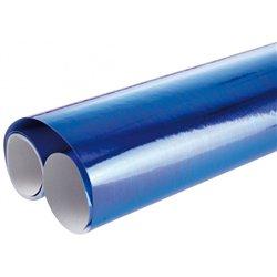 Rouleau de papier métallisé 2,00 x 0,70 m - bleu