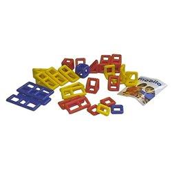 Set supplémentaire de 28 pièces géométriques Mobilo