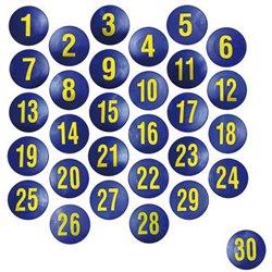 Set de 30 marquages chiffres