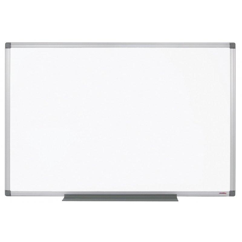 Tableau blanc émaillé 800° magnétique et effaçable à sec.