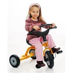 Tricycle à plateforme avec pédales selle à poignée, 33 cm