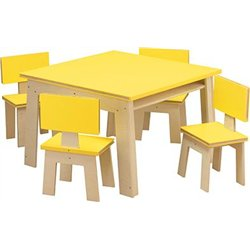 Table bureau - imitation livre 4 places.