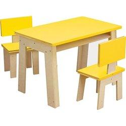 Table bureau - imitation  livre 2 places