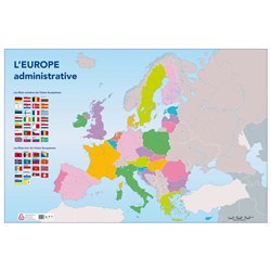 Carte muette Europe administrative