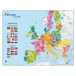 Carte murale Europe politique