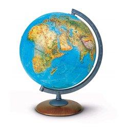 Globe pied bois 30cm