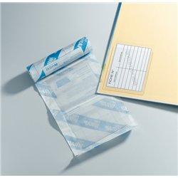 pochette porte fiche adhésive PVC 80 microns 85mm x 130mm