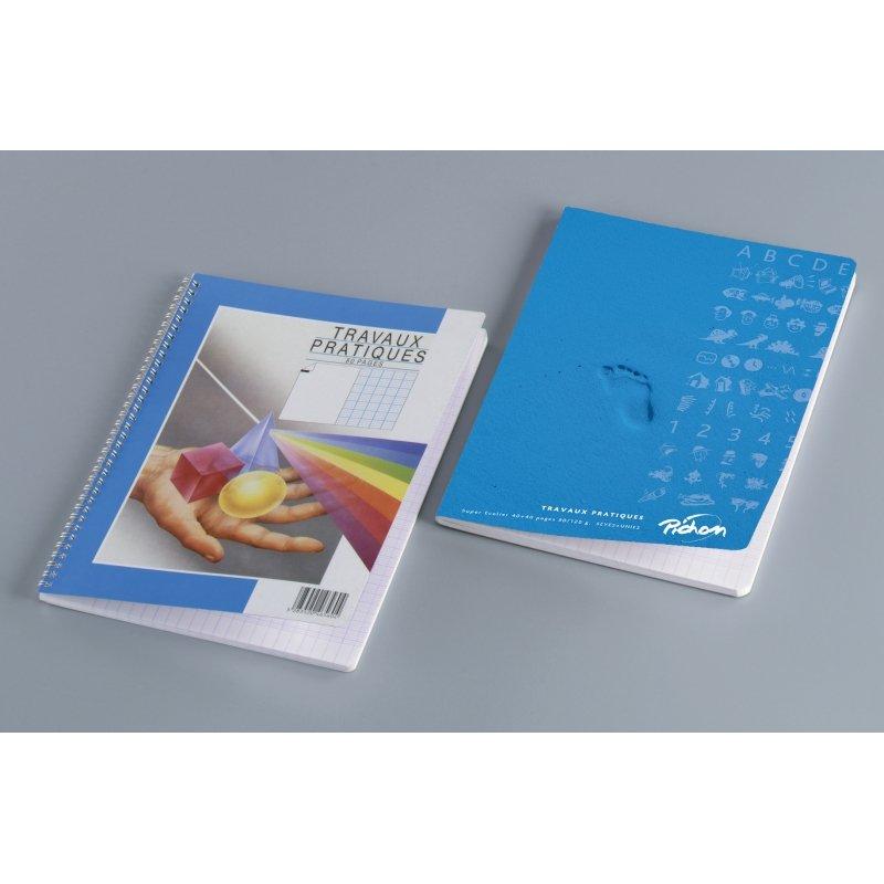 Cahier travaux pratiques 24x32 cm piqûre 96 pages