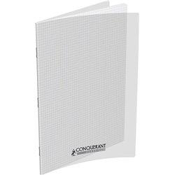 Cahier 90 g 48 pages 5x5 format 24x32 cm polypropylène incolore