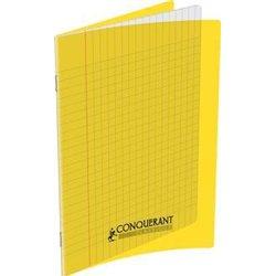 Cahier 90g 48 pages A4 polypropylène - jaune