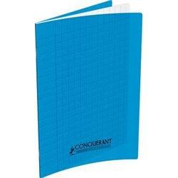 cahier 90g 48 pages A4 polypropylène - bleu