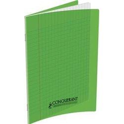 cahier 90g 48p A4 polypropylène - vert