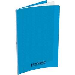 Cahier polypropylène 90 g 140 pages seyes 24x32 cm - bleu