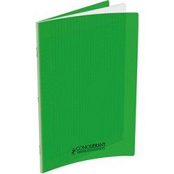 Cahier polypropylène 90 g 140 pages seyes 24x32 cm - vert