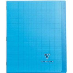 Cahier koverbook 96 pages seyes 17x22 cm - bleu