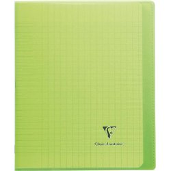 Cahier koverbook 96 pages seyes 17x22 cm - vert