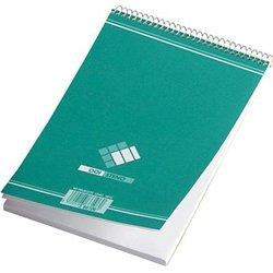 Bloc sténo 180 pages uni reliure hélicoïdale 14,8x21 cm