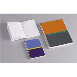 Carnet hélicoïdale 180 pages 14,8x21 cm NF 78 5x5 70g
