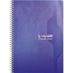 Cahier reliure hélicoïdale A4 100 pages seyes 70g