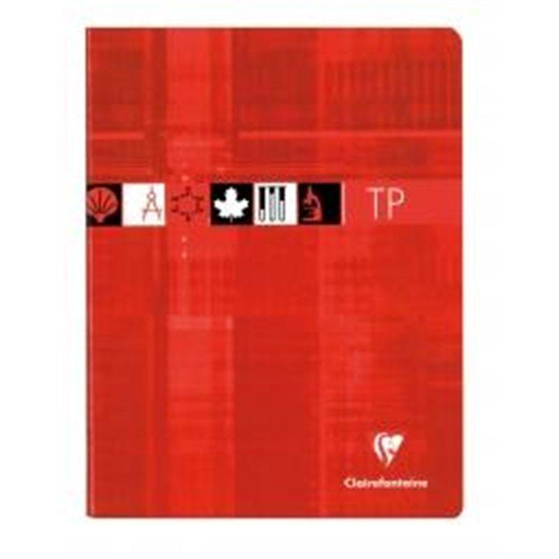 Cahier travaux pratiques 17x22 cm 80 pages seyes 90g dessin 125g