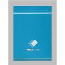 Bloc notes 100 feuilles 60g A6 piqué quadrillé 5x5