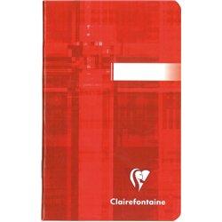 Carnet piqûre 96 pages - 90g - 5x5 - 9x14 cm