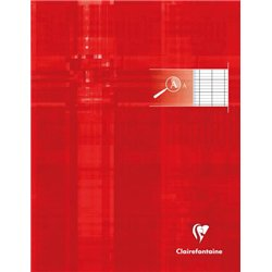 Cahier 90g 48 pages seyes 2.5 mm agrandi 10/10 format 17 x 22 cm