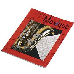 Cahier musique A4 24 pages musique - 24 pages seyes