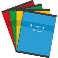 Cahier étudiant piqûre 70g A4 5x5 96 pages