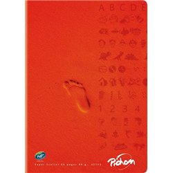 Cahier piqûre super 90g A4 seyes 96 pages