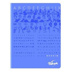 Cahier dessin albums maternelle 17 x 22 cm 16 pages 90g uni NF 40