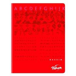 Cahier dessin albums maternelle 17 x 22 cm 120g 16 pages uni