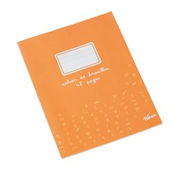 Cahier brouillon 48 pages papier extra blanc 17x22 cm 60g seyes