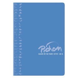 Cahier piqûre 60g 96 pages A4 seyes