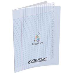 Répertoire polypropylène piqûre 90g 96 pages seyes 17x22 cm