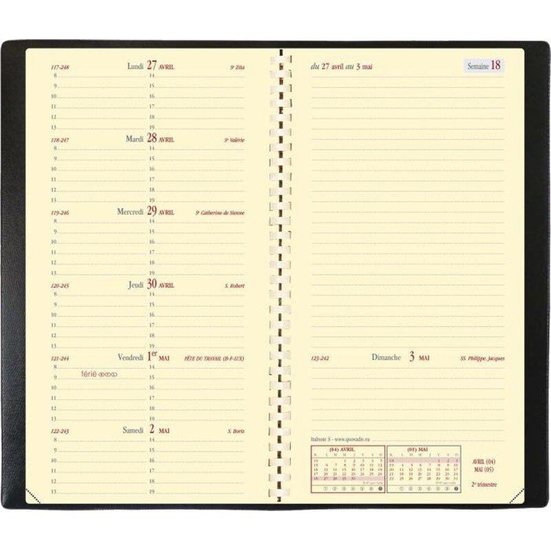 Agenda Italnote quo vadis 8,8x17,5 cm