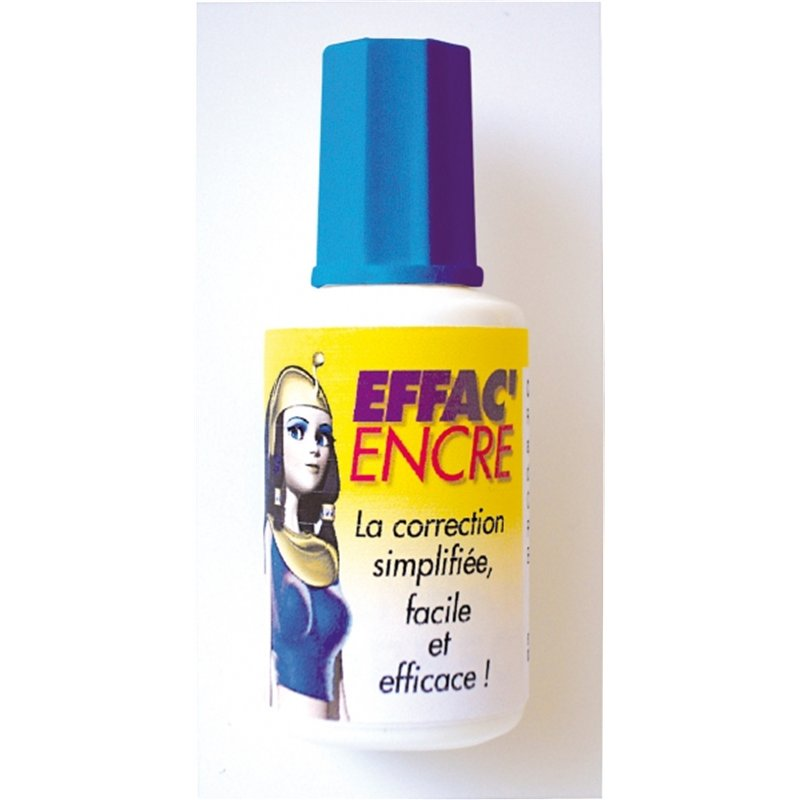 Flacon 20 ml correcteur liquide blanc Cléopâtre