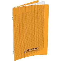 Cahier polypropylène 90g 48 pages seyes 17x22 cm - orange