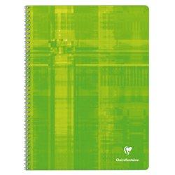 Cahier reliure hélicoïdale 90g 100 pages seyes 24x32 cm