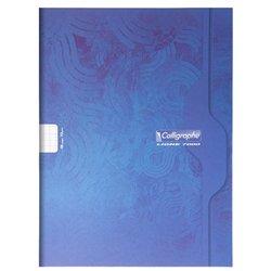 Cahier étudiant piqûre 24x32 cm 48 pages seyes 70g