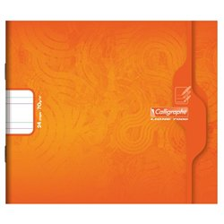 Cahier maternelle 17x14.7 cm 70g 24 pages double ligne 5mm