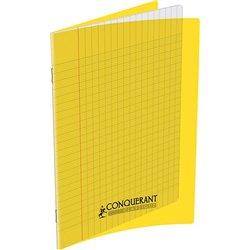 Cahier polypropylène 90g 96 pages seyes 17x22 cm  - jaune